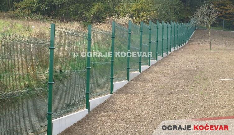 Panelna ograda 3D   Ograde Kočevar